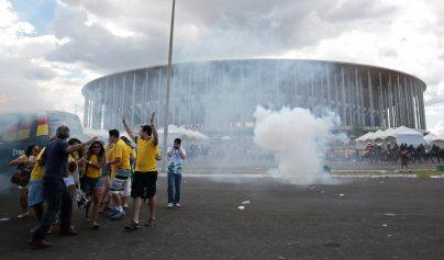 Dünya Kupası (Brezilya 2014) Protestoları