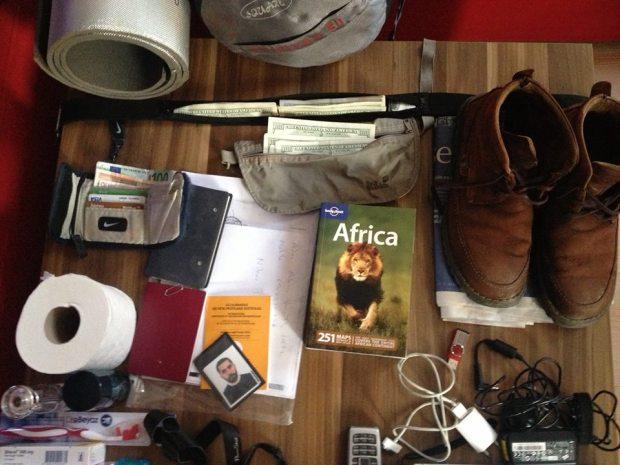 İlyas Yıldız'ın Afrika Çantası