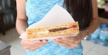 Nostaljik bir tat; kâğıt helva arası dondurma…
