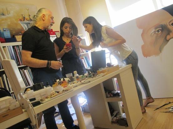 Hasan Kale'nin eserlerine Marmara Life ekibi olarak baktık.
