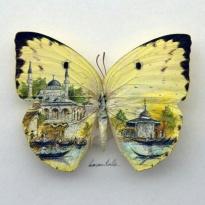 Kelebeğin kanadında İstanbul.