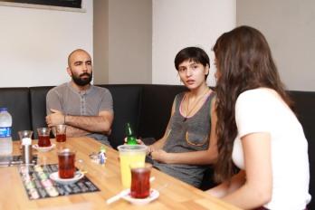 Filiz ve Rüzgar hayat hikayelerini Marmara Life ekibine anlattı.