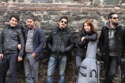 Soldan Sağa: Erkan Özkan, Nebi Topag, Göney Beydağı, Hülya Gürkan, Cemal Yön