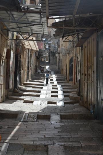 Kudüs sokakları...