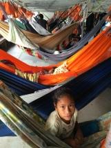2014 yılında Peru Amazonları'nda Pucalpa'dan Leticia'ya hamak üstünde 6 günlük bir gemi yolculuğu yaptım. Yukarıdaki fotoğrafı da bu yolculuk esnasında çektim.
