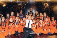 Suriye'nin uzaya uçan ilk ve tek astronotu Muhammed Ahmed Faris, Ali Kuşçu Uzay Evi'nde eğitim verdi.
