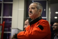 Suriye'nin uzaya uçan ilk ve tek astronotu Muhammed Ahmed Faris, Ali Kuşçu Uzay Evi'nde eğitim verdi