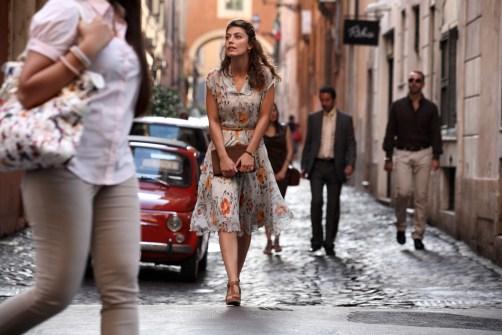Paris'te geçen bir filminden kesit