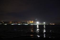 İstanbul uyurken, Marmara'nın ortalarına doğru Sardalye için yol aldık.